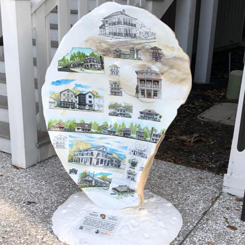 Shell Art Trail, Lowcountry Oyster Trail
