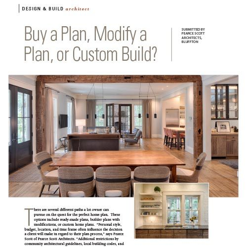 PLAN DESIGN OPTIONS, LowCountry Home Magazine